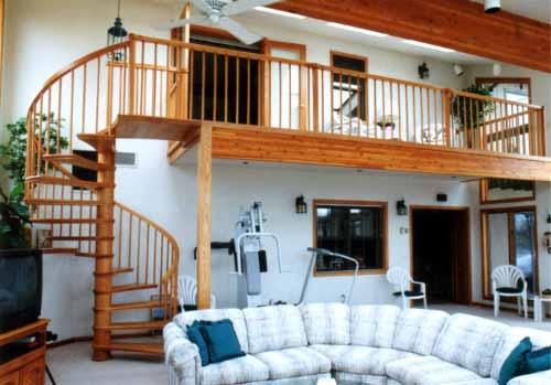 ... Custom Home Interior ...